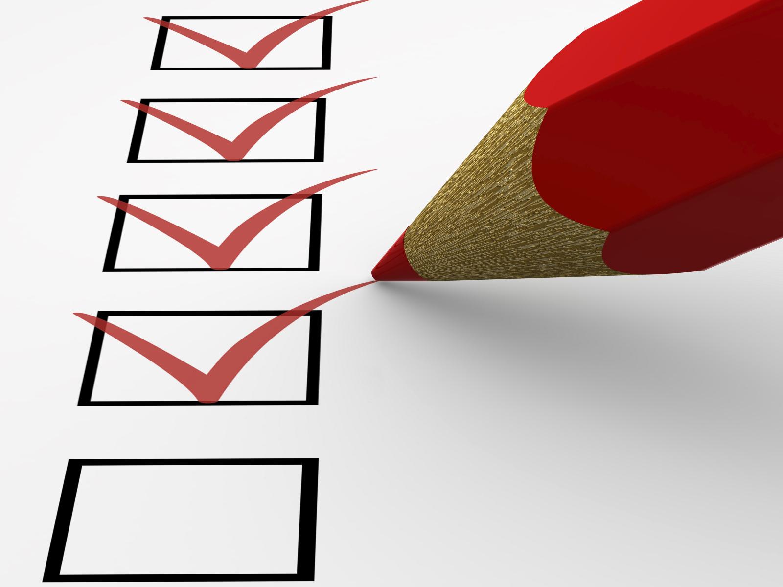Newbie streamate checklist