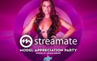 Streamate model appreciation party vegas