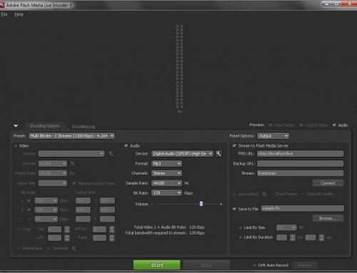 Streamate encoder: SMBroadcast Encoder