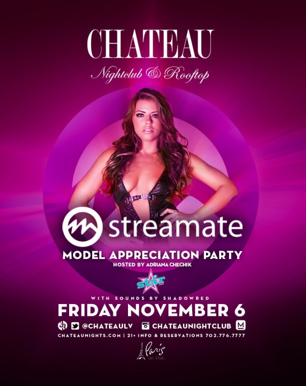Streamate model appreciation party vegas