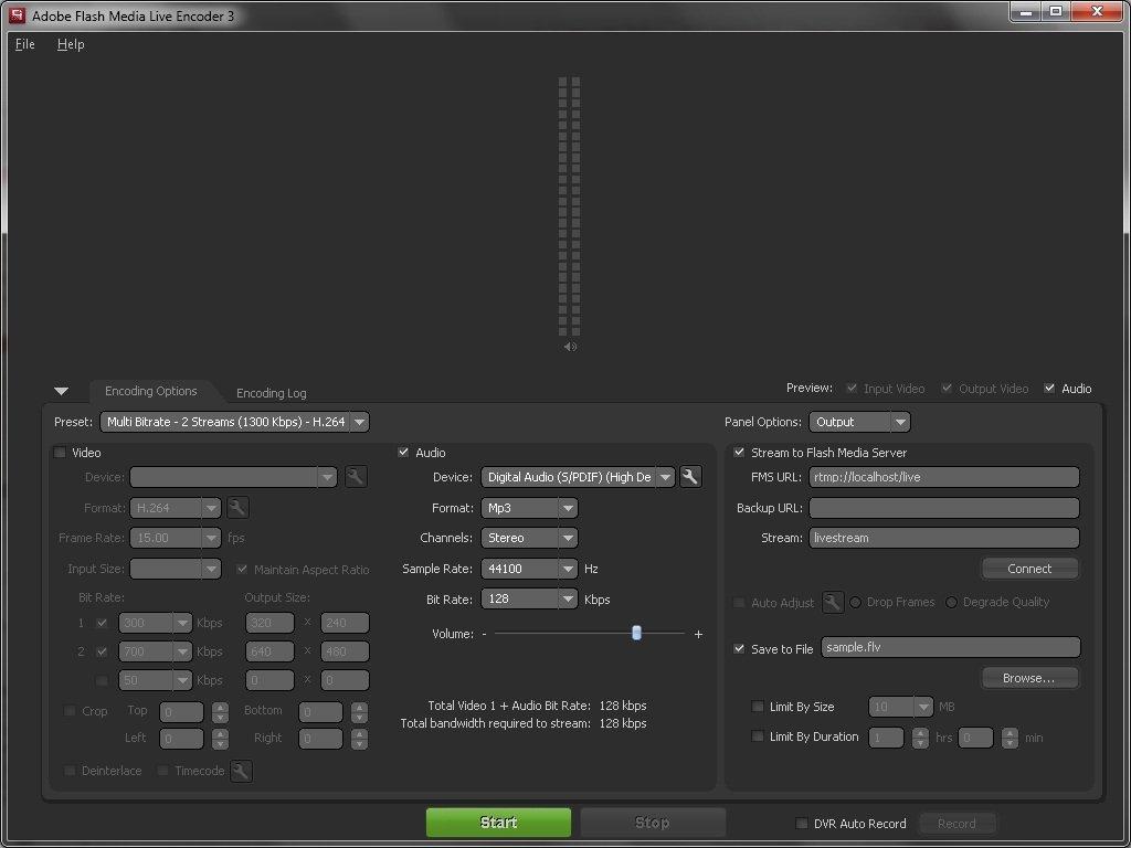 Streamate SMbroadcast encoder