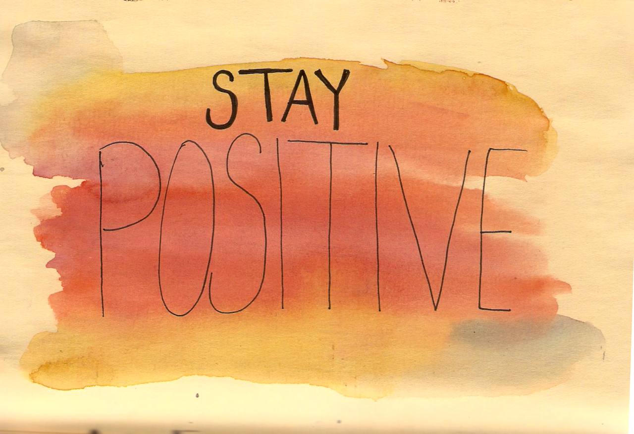 stay positive on cam streamate