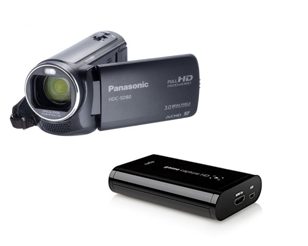 streamate with a camcorder